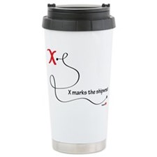 mouse-pad-x-marks-the-shipwreck Travel Mug