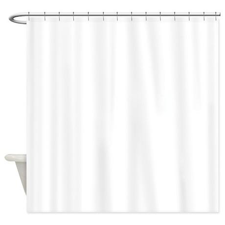 OuroborosOutline-WHITE Shower Curtain