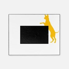 Tri Nation Jumping Three Legged GSD  Picture Frame
