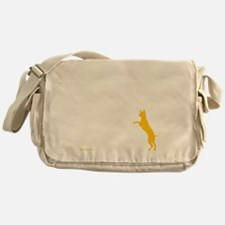 Tri Harder Three Legged GSD Dark BKG Messenger Bag
