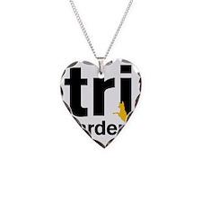 Tri Harder Three Legged GSD W Necklace