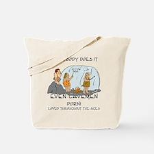 cavemenporn Tote Bag