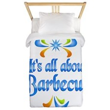 About Barbecue Twin Duvet