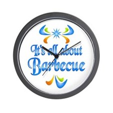 About Barbecue Wall Clock