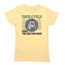 Track and Field Girl's Tee