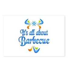 About Barbecue Postcards (Package of 8)