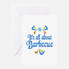 About Barbecue Greeting Card