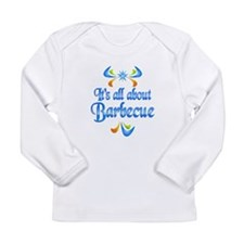 About Barbecue Long Sleeve Infant T-Shirt