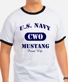 Mustang Wife Stencil CWO T