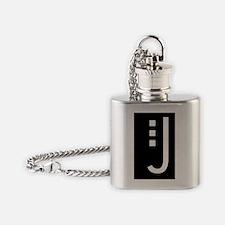 craftsman j Flask Necklace