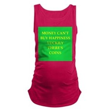 coin collector Maternity Tank Top