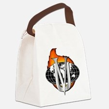 VillainsUnionLogo2 Canvas Lunch Bag