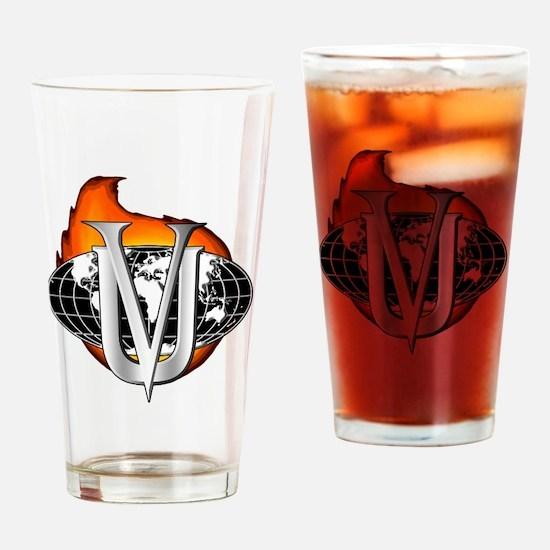 VillainsUnionLogo2 Drinking Glass