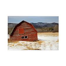 The Old Keene Barn Rectangle Magnet