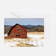 The Old Keene Barn Greeting Card