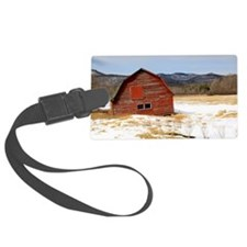 The Old Keene Barn Luggage Tag