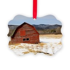 The Old Keene Barn Ornament