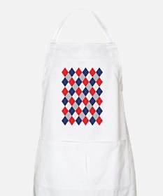 Norwegian Curling Argyle pattern Apron