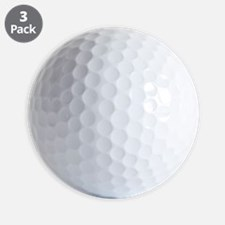 ugly bros white Golf Ball