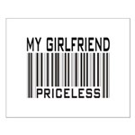My Girlfriend Priceless Valentine Small Poster