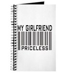 My Girlfriend Priceless Valentine Journal