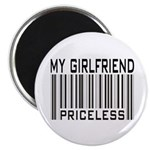 My Girlfriend Priceless Valentine Magnet