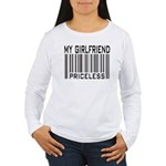 My Girlfriend Priceless Valentine Women's Long Sle