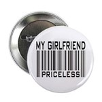 My Girlfriend Priceless Valentine Button