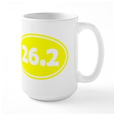 Yellow 26.2 Oval Mugs