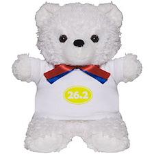 Yellow 26.2 Oval Teddy Bear