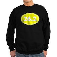 Yellow 26.2 Oval Sweatshirt