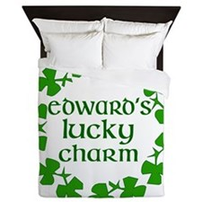 ed_luck_charm Queen Duvet