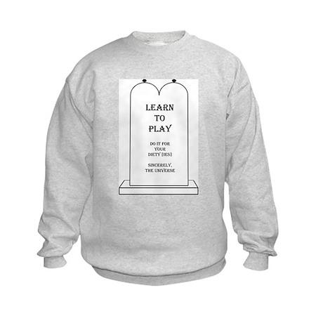 Learn to Play Kids Sweatshirt