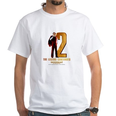 The Legend Continues White T-Shirt