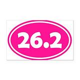 "26.2 pink 3"" x 5"""