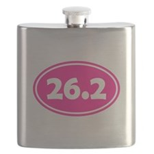 Pink 26.2 Oval Flask