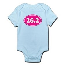 Pink 26.2 Oval Body Suit