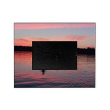 Kayaking at Sunset Picture Frame