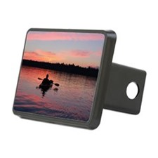 Kayaking at Sunset Hitch Cover