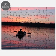 Kayaking at Sunset Puzzle
