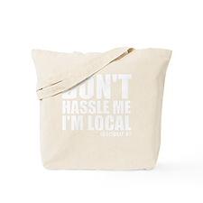 hassle_white Tote Bag
