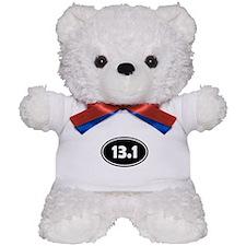 Black 13.1 Oval Teddy Bear