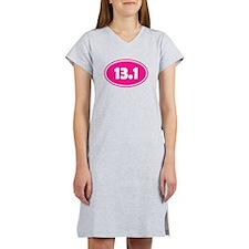 Pink 13.1 Oval Women's Nightshirt
