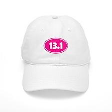 Pink 13.1 Oval Baseball Baseball Cap