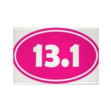 Pink 13.1 Oval Magnets