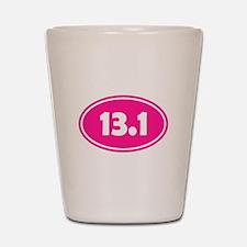 Pink 13.1 Oval Shot Glass