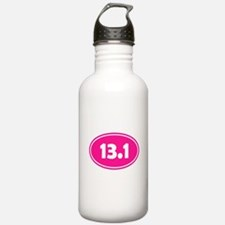 Pink 13.1 Oval Water Bottle