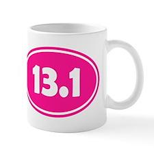 Pink 13.1 Oval Mugs