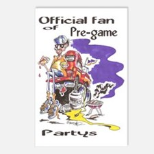 pre-game fan Postcards (Package of 8)