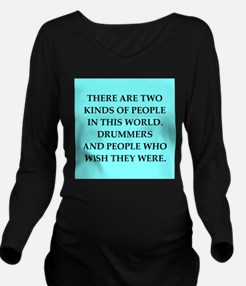 DRUMMERS.png Long Sleeve Maternity T-Shirt